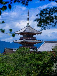Kiyomizu #japan #kyoto