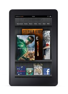 The Kindle Fire is the most recent addition to Amazon's Kindle line of portable e-book reader devices. Thousands of popular apps and games, including Netflix, Hulu Plus, Pandora, and more.   Details: http://www.amazon.com/gp/product/B0051VVOB2/ref=as_li_tf_tl?ie=UTF8=pintazon-20