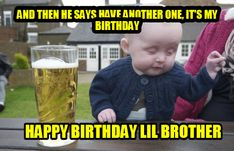 drunk baby pictures and jokes :: memes / funny pictures & best jokes: comics, images, video, humor, gif animation - i lol'd Funny Baby Memes, Funny Babies, Funny Kids, Funny Quotes, Drunk Baby Memes, Funny Drunk, Hilarious Memes, Baby Humor, Baby Memes