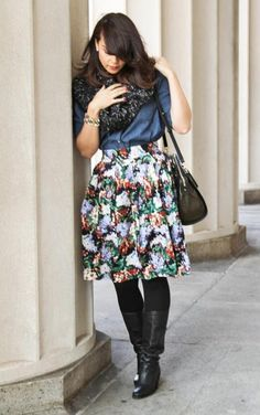 Floral Print Layers