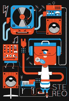 Stereo Print | Awesome Design Inspiration