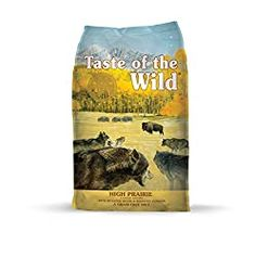 Taste of The Wild Grain Free Premium High Protein Dry Dog Food High Prairie Adul Wet Dog Food, Dry Cat Food, Puppy Food, Dog Biscuit Recipes, Dog Food Recipes, Food For Less, Dog Treat Jar, Dog Branding, Different Dogs