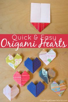 Make Origami Hearts With This Quick And Easy Method Theyre So Simple To