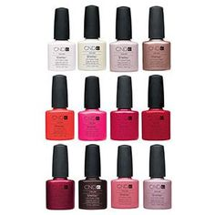 CND Shellac Hybride Nagellak. In mooie verschillende kleuren. Op www.shopwiki.nl #beauty #nagels #schoonheid