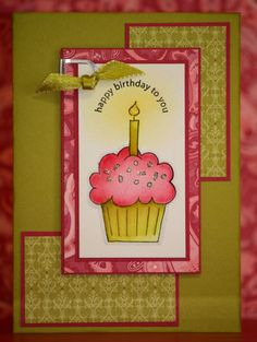 "Stampin Up ""Crazy for Cupcakes"""