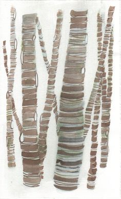 birch trees Birch Tree Art, Watercolor Paintings, Painting Art, Watercolour, Tree Leaves, Leaf Art, Art Techniques, Illustrations, Painting Inspiration