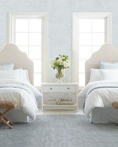 Casa da Anitta: see the singer's mansion in Barra da Tijuca - Home Fashion Trend Coastal Bedrooms, Guest Bedrooms, Girls Bedroom, Baby Bedroom, Girls Shared Bedrooms, Twin Bedroom Ideas, 60s Bedroom, Blue Bedrooms, Coastal Bedding