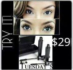 If you haven't tried our 3D Fiber Lash Mascara, you need to order now!  This WILL become your FAVORITE mascara  :)  www.youniquebyjeanie.com  Local Divas, I have some on-hand for cash/carry.... $32, save on shipping!  Contact me :)