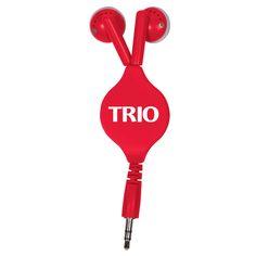 #TRIOworks - Retractable Ear Buds Palm Beach Community College TRIO