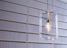 Glass lantarn by Richard Hutten
