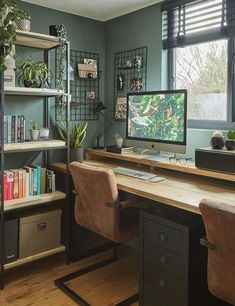 Gaming Room Setup, Desk Setup, Computer Room Decor, Computer Setup, Pc Setup, Home Office Setup, Home Office Design, Light In, Game Room Design