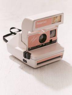 Refurbished Peach Polaroid Camera