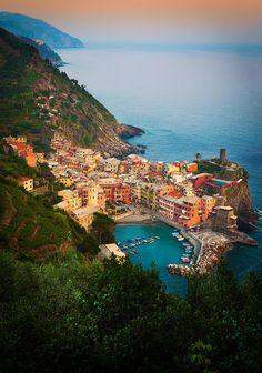 Vernazza, Cinque Terre, Italy,