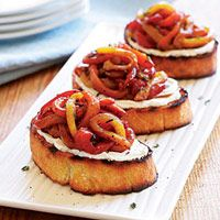 Grape Salsa and Goat Cheese Crostini | Eat, Drink & Be Merry ...