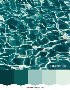 Rippling | Color Stories #colorstoriesblog #colour #water #colorpalette