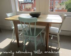 Monty extendable dining table- perfect for small spaces. made.com