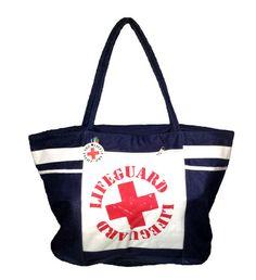 Lifeguard Extra Large Beach Tote Bag – 101BeachBags