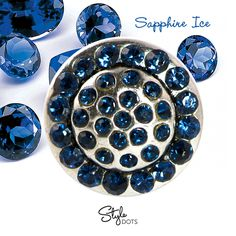 Sapphire Ice - September Birthstone  https://shanette.styledotshome.com/products/dots/sapphire-ice-september-birthstone