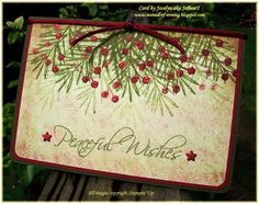 CAS94 Vintage Peaceful Wishes! by JoBear2 - Cards and Paper Crafts at Splitcoaststampers