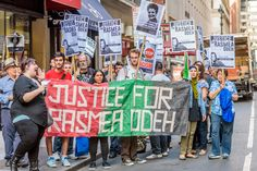 On Monday, June 13, 2016, Rasmea Odeh will appear with her attorneys before Judge Gershwin Drain for a status conference at the federal courthouse in Detroit, Michigan. Support groups urge for a new trial for this Palestinian American icon who was convicted of a politically-motivated immigration charge in 2014, and sentenced to 18 months in prison and deportation last year.  New York will be standing in solidarity with Rasmea Odeh