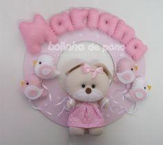 enfeite-porta-maternidade-ursa-passaros-porta-maternidade-ursinha-rosa-bebe.jpg (1000×891)