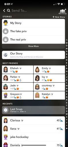 Snapchat Names, Snapchat Ideas, Phone Organization, Layouts, Best Friends, Aesthetics, Bullet Journal, Goals, Random