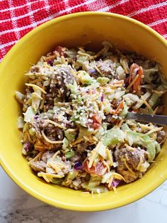 This Big Mac Salad is low carb and keto friendly. You deserve a break when you'r. This Big Mac Salad is low carb and keto friendly. You deserve a break when you'r. Ketogenic Recipes, Low Carb Recipes, Diet Recipes, Cooking Recipes, Healthy Recipes, Salad Recipes, Keto Foods, Diabetic Recipes, Salads
