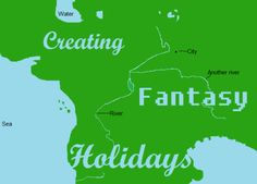 Creating Fantasy Holidays l Red Lettering