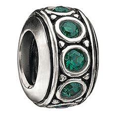 Wheel - May Birthstone Swarovski - Beads - Jewelry