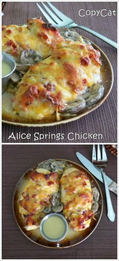 Alice Springs Chicken CopyCat Recipe - like Outback Steakhouse but without the crowds!