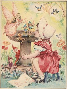 Old book illustrations on this site The ABC Book - Fairy Queen | Flickr - Photo Sharing!