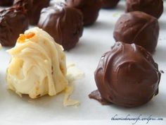 Carrot cake Truffles or Life's lessons from a failed recipe