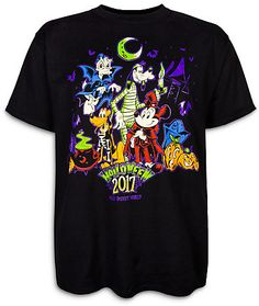 Mickey Mouse and Friends Halloween T-Shirt for Adults - Walt Disney World
