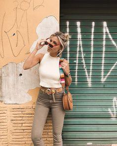 Oi 🦋 toda de @bynv e cinto @francesca | bolsa #chloé e Óculos #celine