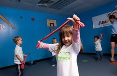 Great website for exercise and athletic activities for children of all ages