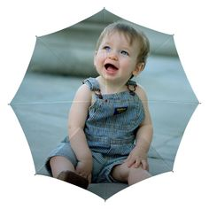 """Testimonial from our happay customer: """"I ordered two personalized umbrellas I designer and am impressed by the high quality printing. I will definitely order more from designer-umbrella.com when I need them and will recommend the compony to anyone in need of excellent photo umbrellas. This is a product I am proud to present to anyone."""" Katrin White 