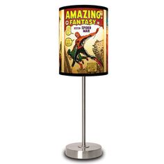 Spider-Man Covers Lamp now featured on Fab.