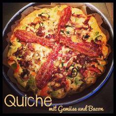 Quiche mit Bacon