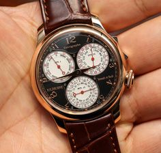 F.P. Journe Centigraphe Souveraine Watch Hands On: The Cleverest Chronograph? hands on
