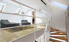 Z Widokiem 2 - wizualizacja 8 - Nowoczesne projekty małych domów z antresolą Bed, Furniture, Design, Home Decor, Decoration Home, Stream Bed, Room Decor, Home Furnishings, Beds