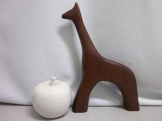 Teak Giraffe era Antonio Vitali mid-century von Designclassics24