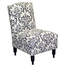 I pinned this Dahlia Accent Chair from the Classic Chic: Black & White event at Joss and Main!