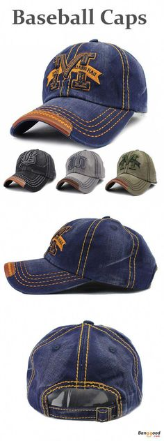 Unisex Men Women M Embroidery Snapback Hats Hip-hop Adjustable Baseball Cap  Hat 99ff86db174b