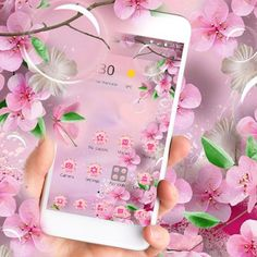 Cannot wait for spring season to start blooming flowers. Get your own flower garden in your phone with pink blossom style. Beautiful Flowers Images, Flower Images, Pink Blossom, Blooming Flowers, Live Wallpapers, Simple Designs, Seasons, Phone