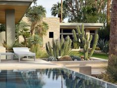 Having a pool sounds awesome especially if you are working with the best backyard pool landscaping ideas there is. How you design a proper backyard with a pool matters. Modern Landscape Design, Landscape Plans, Garden Landscape Design, Modern Landscaping, Contemporary Landscape, Backyard Landscaping, Landscaping Design, Dessert Landscaping, Modern Backyard