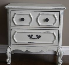 a how-to on diy refurnishing furniture. Easier than I thought! ...For the dresser we're refinishing for the changing table.