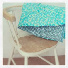 How to make a Liberty print baby blanket www.apartmentapothecary.com