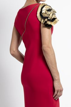 Caroline Kilkenny, One Shoulder, Shoulder Dress, Fall Winter, Autumn, Dresses, Fashion, Vestidos, Moda