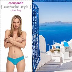 It's #traveltuesday and we're dreaming of the Aegean Sea and Santorini! Can you tell? #wearcommando