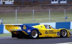 RSC Photo Gallery - World Sports Prototype Championship Donington 1990 - Porsche 962 no.15 - Racing Sports Cars